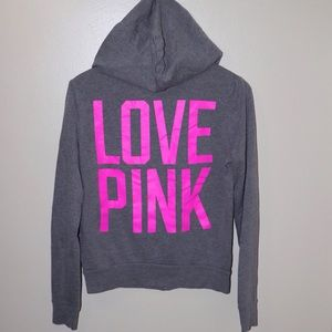 ✨PINK / Victoria's Secret✨ Zip Up Hoodie